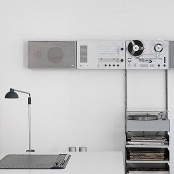 Dieter Rahms For Braun Hi Fi Amp Rack For The Home