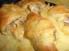Chicken crossiants