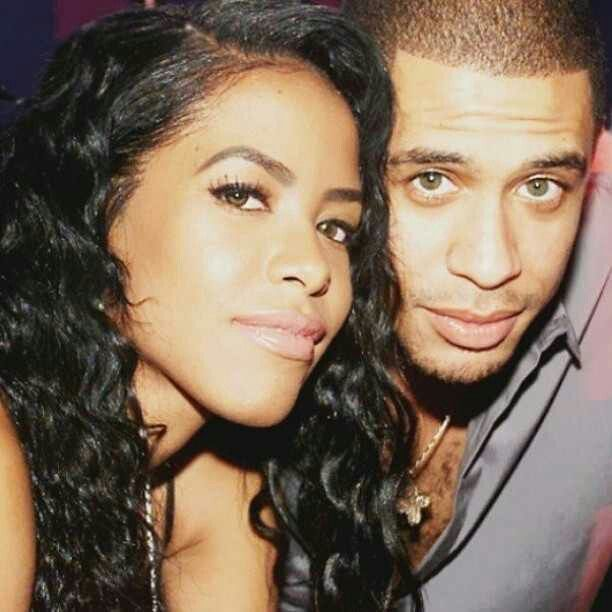 Aaliyah and Brother