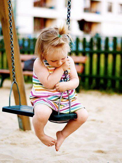 Abused so i love swinging