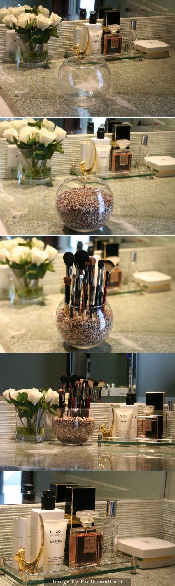 Pretty Makeup Brush Holder