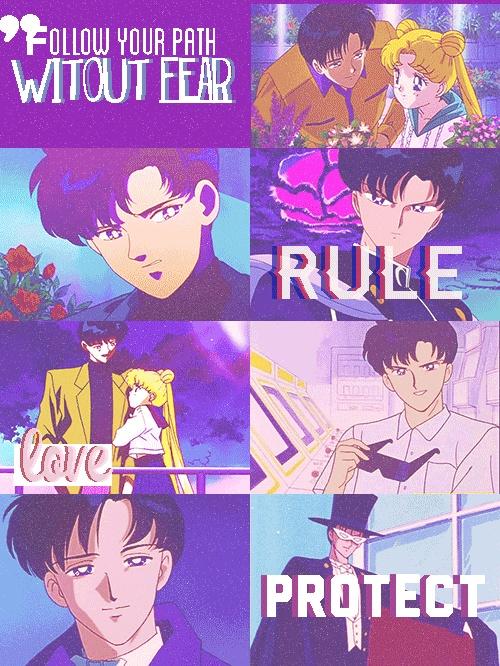 Darien. Sailor Moon. Darin is just so cute!