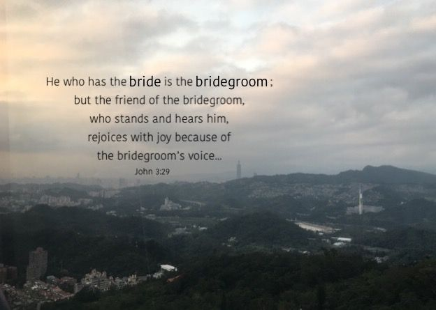 The direction of the Lord's move today is...to prepare His bride, the church, as His (the Bridegroom's) counterpart (John 3:29-30) for the eternal marriage (Revelation 19:7-8), the universal marriage, of the redeeming God with His redeemed people (Revelation 22:17; 21:1-2, 9b-10). This universal marriage was typified by the union of the people of Israel with their redeeming God (Isaiah 54:5; Hosea 2:19) and is clearly revealed in the New Testament. (WL)