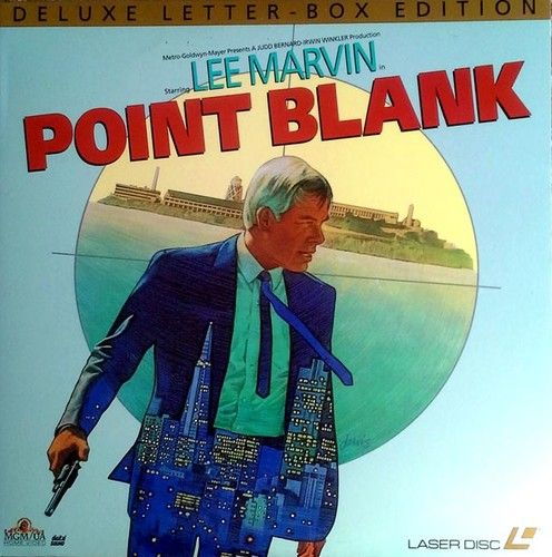POINT BLANK - LEE MARVIN, ANGIE DICKINSON - MGM / UA - LASER DISC