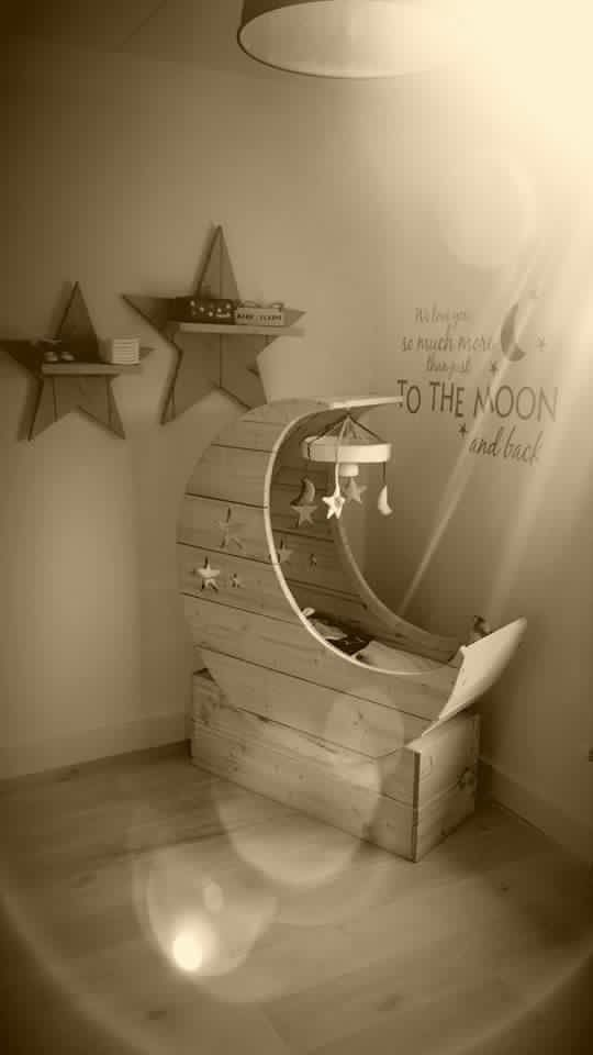 10 beste afbeeldingen van Inrichting babykamer - Houtbewerking ...
