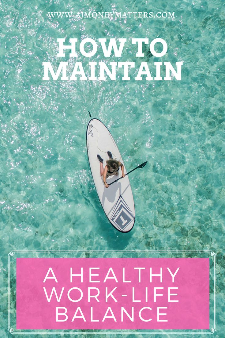 When it comes to our jobs, it's so important to maintain a healthy work life balance and actually enjoy life. If we let our jobs take over, we start to become angry, depressed, frustrated, and this in turn affects our quality of work and also our relationships. If you need a few tips on how you can do this, click through to our article and find out how you can maintain a healthy work life balance today!
