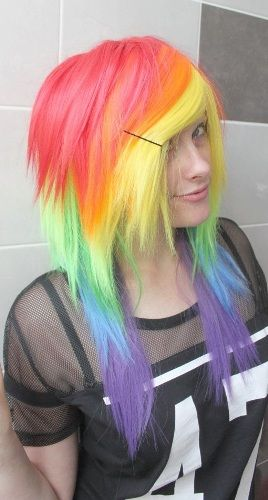 Emo Hairstyles For Girls..