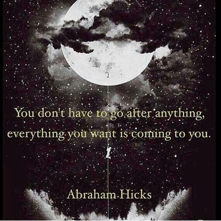 Abraham Hicks ..*                                                       …