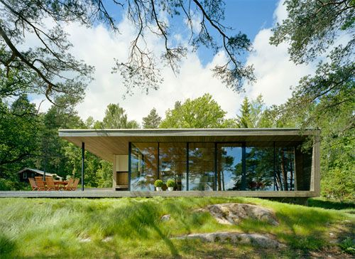 Island House, Private Summer House in Archipelago of Stockholm by WRB Architects