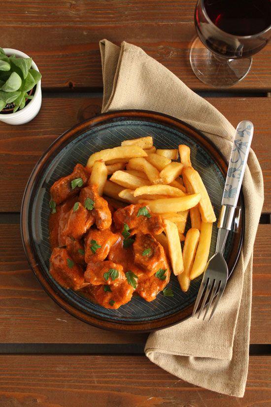 Πικάντικο μοσχάρι με κάρυ