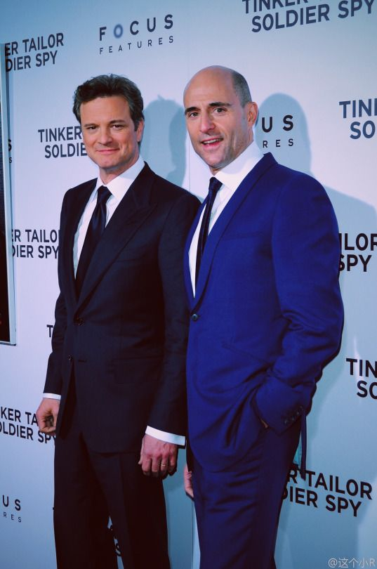 Colin Firth & Mark Strong
