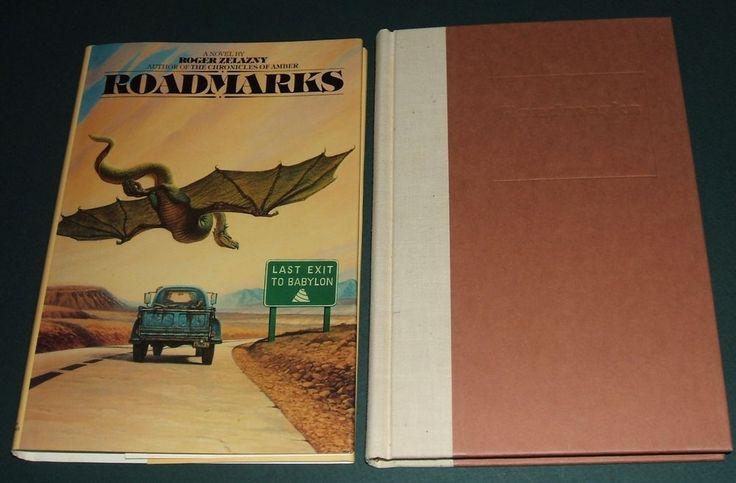 Roadmarks by Roger Zelazny 1979 First edition in Dust Jacket Collectible Copy