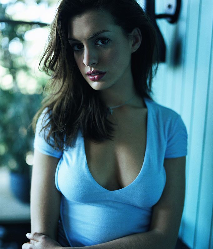 Hollywood's hottest star ... Anne Hathaway, star of One Day