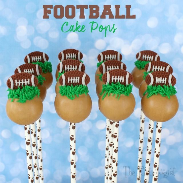 The Partiologist: Football Cake Pops!