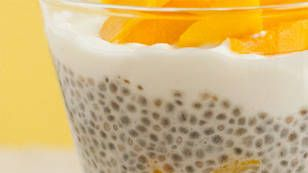 Coconut and Chia Puddings with Fresh Mango - Yahoo!7 TV
