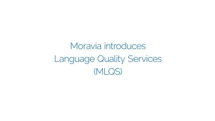 Moravia Language Quality Services: In today's business environment the language quality is a must but the quality can be subjective and must be defined. In this video you can learn how we customize language quality solutions for the global brands. #moraviait #language #quality