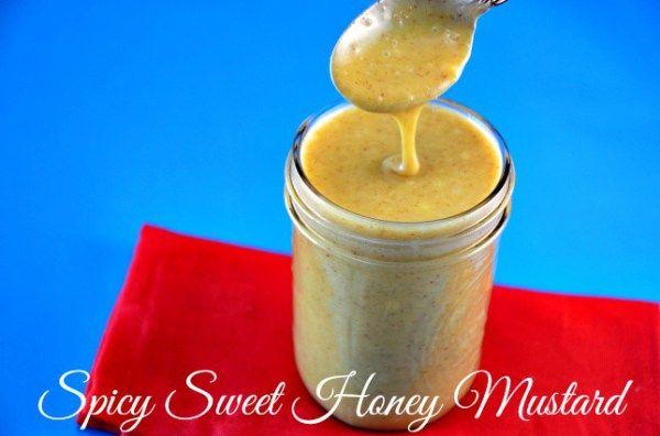 Spicy Sweet Honey Mustard