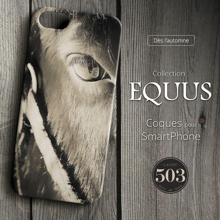 """Nos coques de notre collection """"Equus"""" pour SmartPhone. (Smartphone Cases)"""