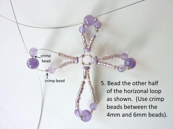 Wire Loop Cross: step 5