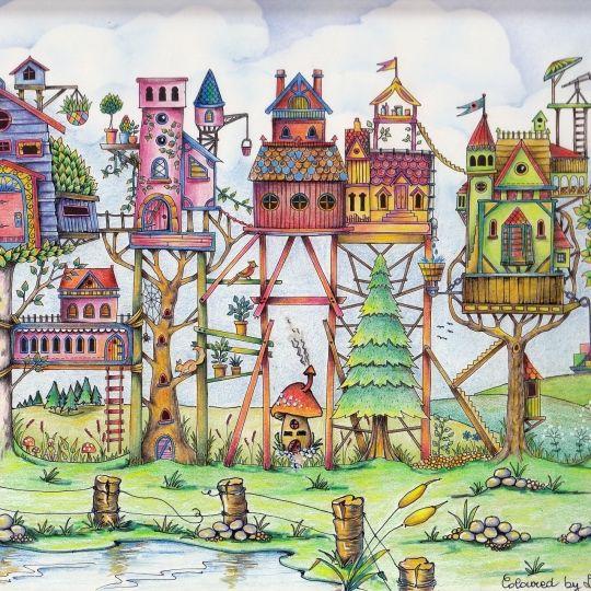 By Loredana Rosi - Johanna Basford   Colouring Gallery