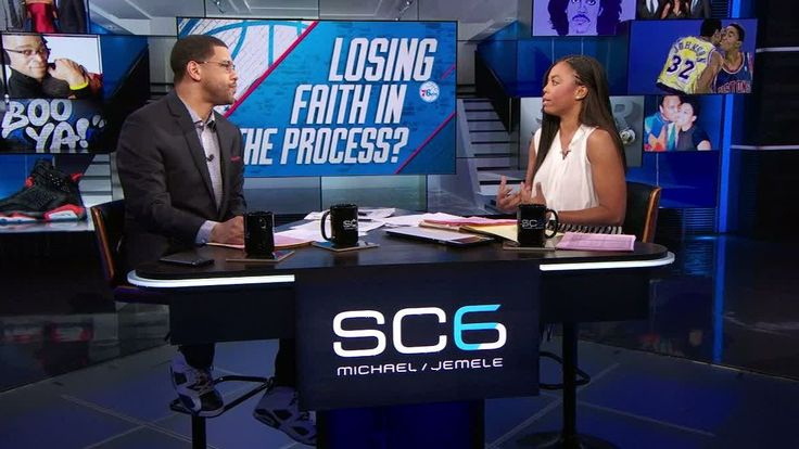 Michael Smith and Jemele Hill discuss on SC6 whether 76ers' fans should start to lose faith because Joel Embiid is injured again, Ben Simmons is out for the season and the team traded away Nerlens Noel.