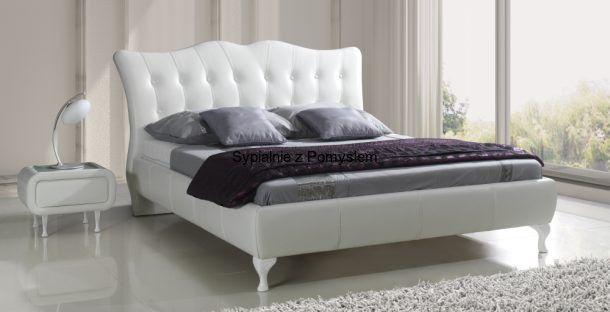 Łóżko Princessa tapicerowane bez pojemnika