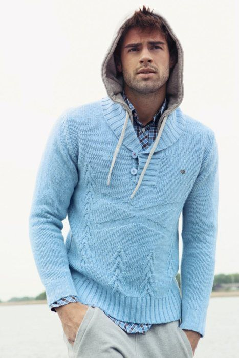 : Baby Blue, Chad White, Men'S Outfit, Winter Looks, Men'S Styles, Men'S Clothing, Men'S Fashion, Sweaters Hoodie, Boys Styles