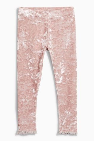 We are SERIOUSLY crushing on these velvet leggings!