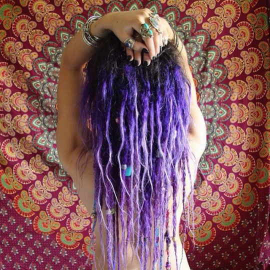 Dreadshare #dreads #dreadlocks #lilac