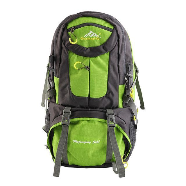 50L Comfortable Outdoor Sports Cycling Hiking Camping Rucksack Bag Lightweight Traveling Backpack Rucksack free shipping
