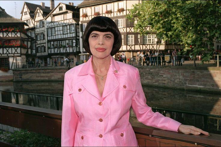 Mireille Mathieu à Strasbourg, le 29 septembre 2000