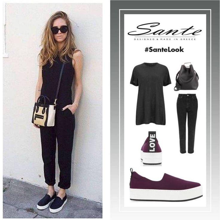 How to wear bordeaux slip-on sneakers! #SanteLook #SanteMadeinGreece Shop online: www.santeshoes.com