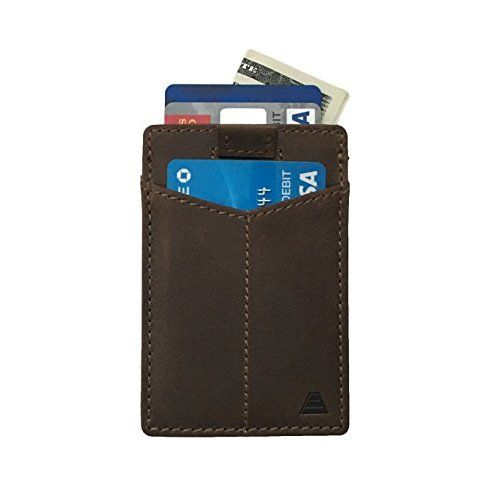 Leather Slimfold Wallet - Pavement by VIDA VIDA 8wtOz