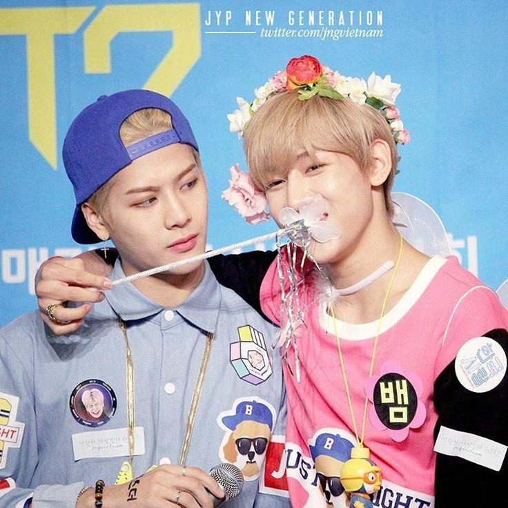 Jackson and BamBam