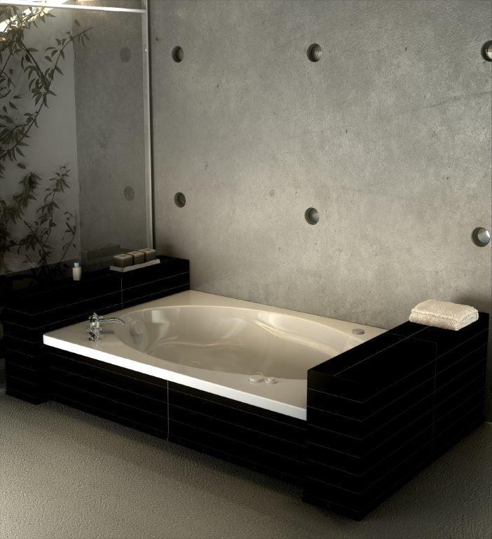 """The Opal Model 6042 - 60"""" Acrylic Bathtub"""