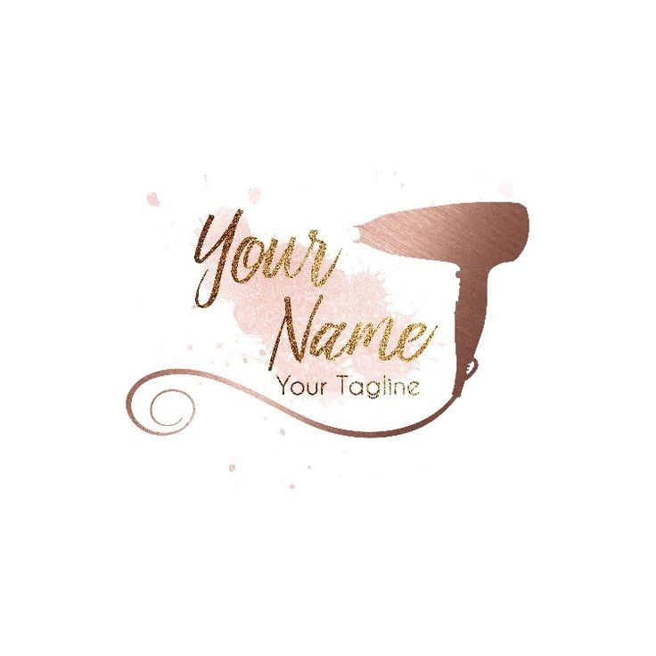 Perfect logo for a hairdresser :) You can buy it at my #etsy shop :) #rosegold #customlogodesign #customlogo #hairlogo #hairdresserlogo #rosegoldlogo #etsy #etsyshop #etsyseller #etsystore #business #businesslogo #smallbusiness  http://etsy.me/2C0jDyR