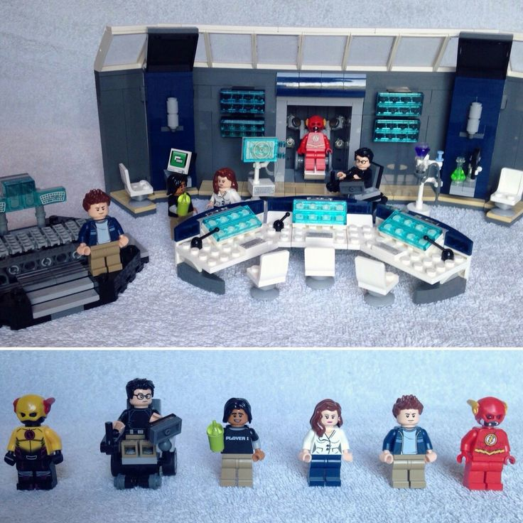 The Flash CW Lego ※ Reverse Flash ※  Doctor Wells ※ Cisco Ramon ※ Caitlin Snow ※ Barry Allen Lego #DC