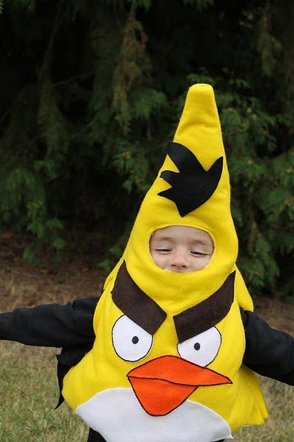 Angry Birds costumes #tutorial