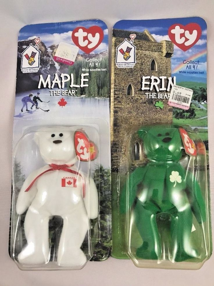 Ronald McDonald House Charities Ty Beanie Babies Maple and Erin #TY