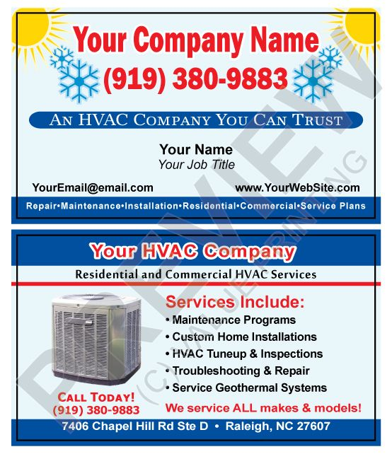 8 best hvac business cards images on pinterest business cards check out these great hvac business cards from value printing reheart