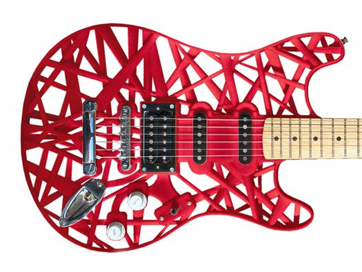 Shapeways Blog - 3D Printed Guitar…another instrument from the land of CAD!
