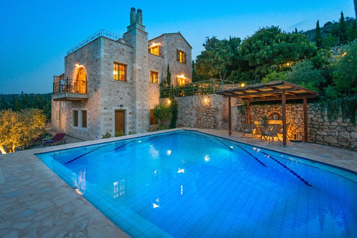 Villa Meli Crete Sleeps up to 6. Combining coast and country living, this family villa in Crete is full of character, with gorgeous views from its garden and terraces, and within strolling distance of village tavernas.