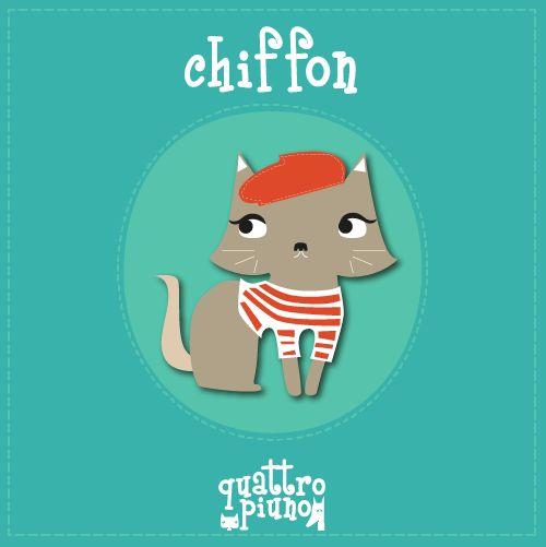 vi presentiamo la #gattina francesina Chiffon!! #adorable #cat