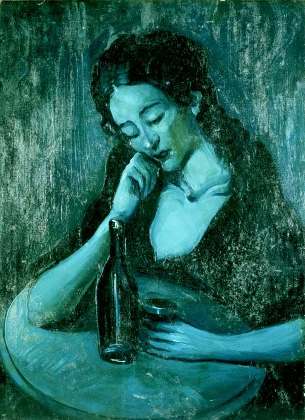 Picasso - his blue period This might just be one of the only Picasso paintings I…                                                                                                                                                     Plus