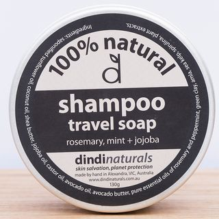 Dindi Shampoo Travel Soap - Rosemary, Mint & Jojoba