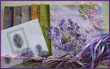 Lavender inspired Crazy Quilting Project Pack