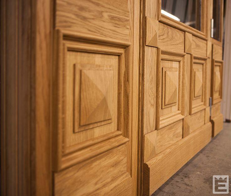 Entréport special i massivträ.  #Ekstrands #entredörr #entredörrar #massivträ #dörr #dörrar #ek