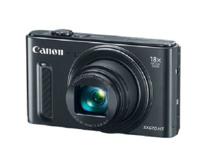 Canon 0111C001 PowerShot SX610 HS, Wi-Fi Enabled - Black