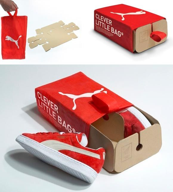 puma shoes package