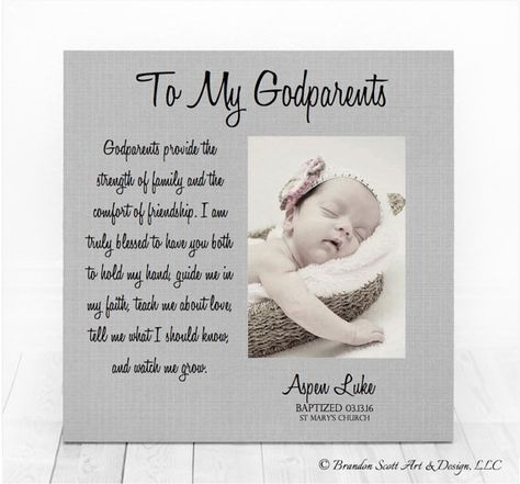 Baptism Gift Boy Personalized Baptism Gift by BrandonScottAD